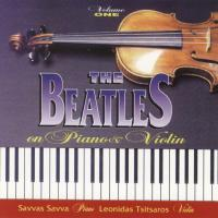 CD - S. Savva & L. Tsitsaros Beatles on piano & violin  vol 1