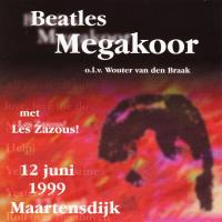 CD - Beatles Megakoor Beatles Megakoor 12 juni 1999 Maartensdijk