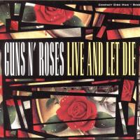 CD-single - Guns n' Roses Live and let die