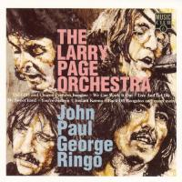 CD - Larry Page Orchestra John Paul George Ringo