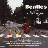 CD - RRSO Symphony Orchestra Beatles for strings (Abbey Road alike art)