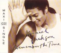 CD-single - Michael Jackson Remember the time (+ Come Together)