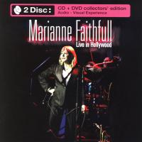 CD - Marianne Faithfull Live in Hollywood