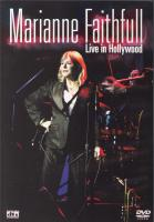 DVD - Marianne Faithfull Live in Hollywood   dvd + cd