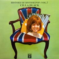 LP - Various Artists History of British Pop - Vol.7 - Cilla Black