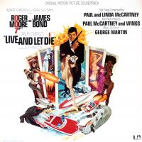 LP - Various Artists Live and let die  (Soundtrack)      GF