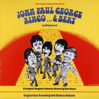 LP - Barbara Dickson cast recording John Paul George Ringo..& Bert