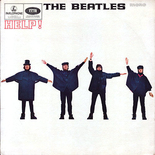 LP - Beatles Help!