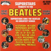 LP - Various Artists Superstars tribute to the Beatles  (2lp)