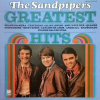 LP - Sandpipers Greatest     (2 covers sung in Spanish)