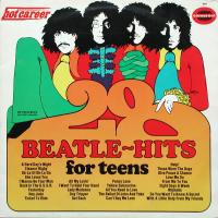 LP - John Hamilton Band 28 Beatle-hits for teens    (medley)