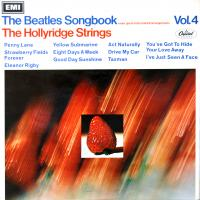 LP - Hollyridge Strings Beatles Songbook  Vol.4