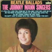 LP - Johnny Mann Singers Beatle Ballads   (mono)