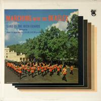 LP - Band of Irish Guards Marching with the Beatles  (mono)