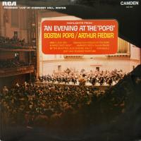 LP - Boston pops / Fiedler An evening at the pops (live 1965)