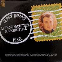 LP - Jerry Inman Lennon & McCartney Country Style    (mono)