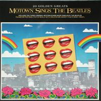 LP - Various Artists Motown sings the Beatles