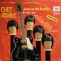 LP - Chet Atkins Picks on the Beatles    (stereo)