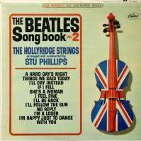 LP - Hollyridge Strings Beatles Song Book  vol.2  (stereo)