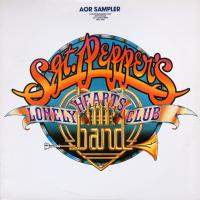LP - Various Artists Sgt. Pepper's  lonely hearts club band (AOR Sampler promo 1-LP version)