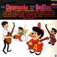 LP - Chipmunks Chipmunks sings the Beatles hits   (RE)