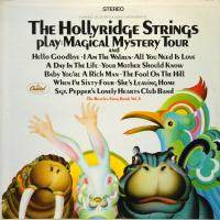 LP - Hollyridge Strings Play Magical Mystery Tour - The Beatles Song Book Vol.5