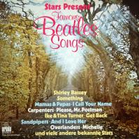 LP - Various Artists Stars Present Famous Beatles Songs