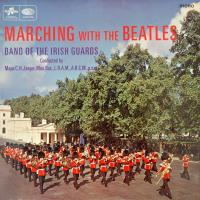 LP - Band of Irish Guards Marching with the Beatles (full picture) MONO