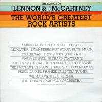 LP - Various Artists The Songs of  Lennon & McCartney - The World's Greatest Rock Artists