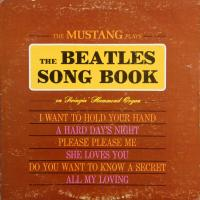 LP - Mustang Plays The Beatles Song Book (On Swingin' Hammond Organ)