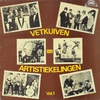 LP - Various Artists Vetkuien en Artistiekelingen  Vol.1