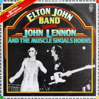 "12 "" (maxi) - Elton John Band (featuring John Lennon) Elton John Band feat. John Lennon and the Musle Shoals Horns"