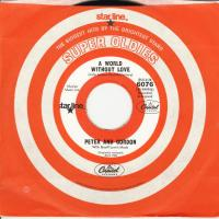 SINGLE - Peter & Gordon A world without love / Nobody I know    RE
