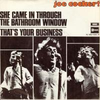 SINGLE - Joe Cocker She came in through the bathroom window