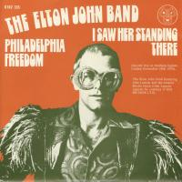 SINGLE - Elton John Band I saw her standing there