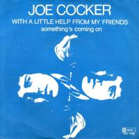 SINGLE - Joe Cocker With a little help from my friends