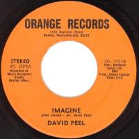SINGLE - Bring back the Beatles / Imagine - by: David Peel