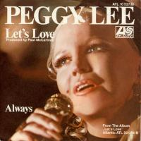 SINGLE - Peggy Lee Let's love