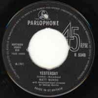 SINGLE - Matt Monro Yesterday