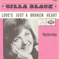 SINGLE - Cilla Black Yesterday (Love's just a broken heart)