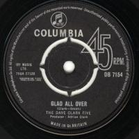 SINGLE - Dave Clark Five Glad all over