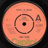 SINGLE - Ruby Starr Maybe I'm amazed    (demo record)