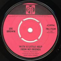 SINGLE - Joe Brown With a little help from my friends
