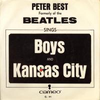 SINGLE - Peter Best Boys / Kansas city