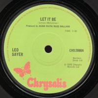 SINGLE - Let it be - by: Leo Sayer