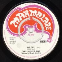 SINGLE - Chris Barber Cat call     (McCartney composition)
