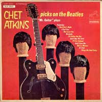 EP - Chet Atkins Picks on the Beatles  mini-lp  w. jukebox tags