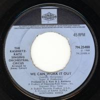 SINGLE - We can work it out - by: Kasenetz Katz Circus
