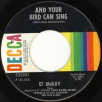 SINGLE - Ef McKay And your bird can sing