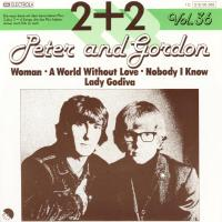 EP - Peter & Gordon Woman / World without love   (2+2 vol.36)